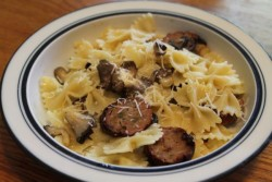Sweet Sausage & Mushroom Pasta